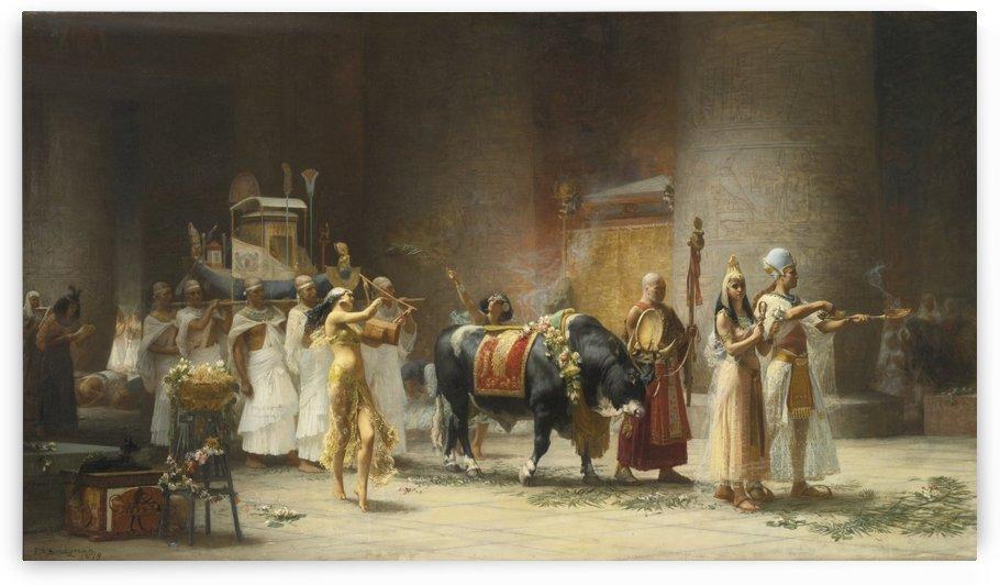 Egiptian procession by Frederick Arthur Bridgman