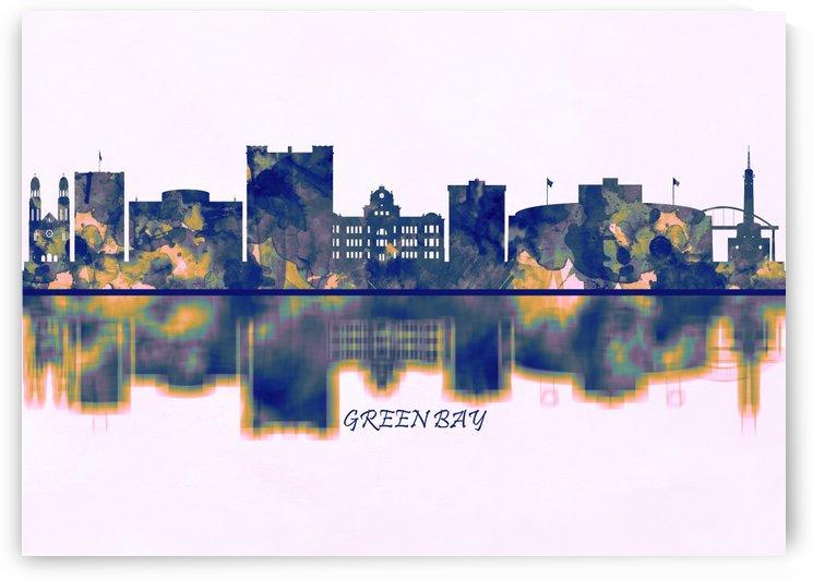 Green Bay Skyline by Towseef Dar