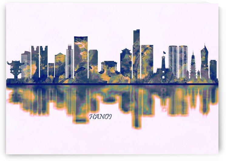 Hanoi Skyline by Towseef Dar