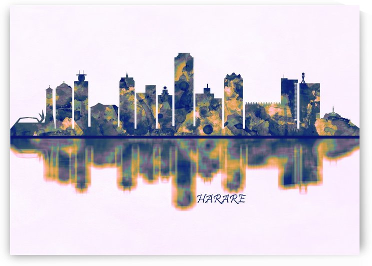Harare Skyline by Towseef Dar
