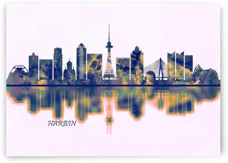 Harbin Skyline by Towseef Dar