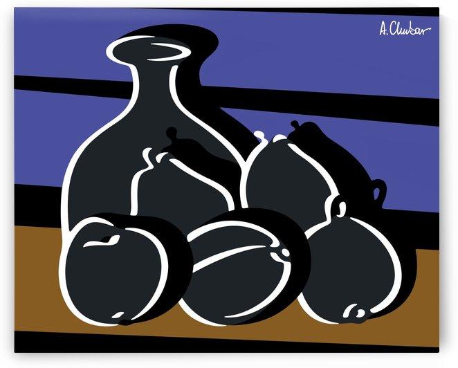 Still Life with a Vase by Alexander Chubar