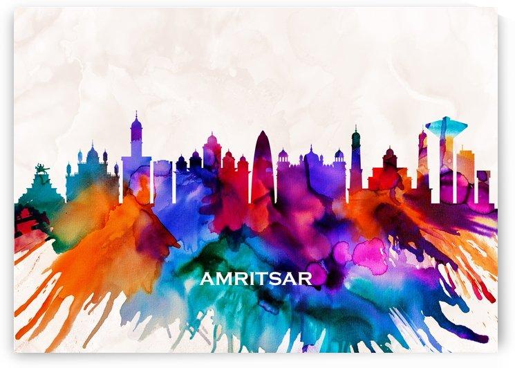 Amritsar Skyline by Towseef Dar