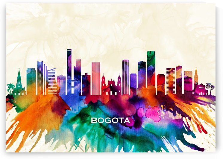 Bogota Skyline by Towseef