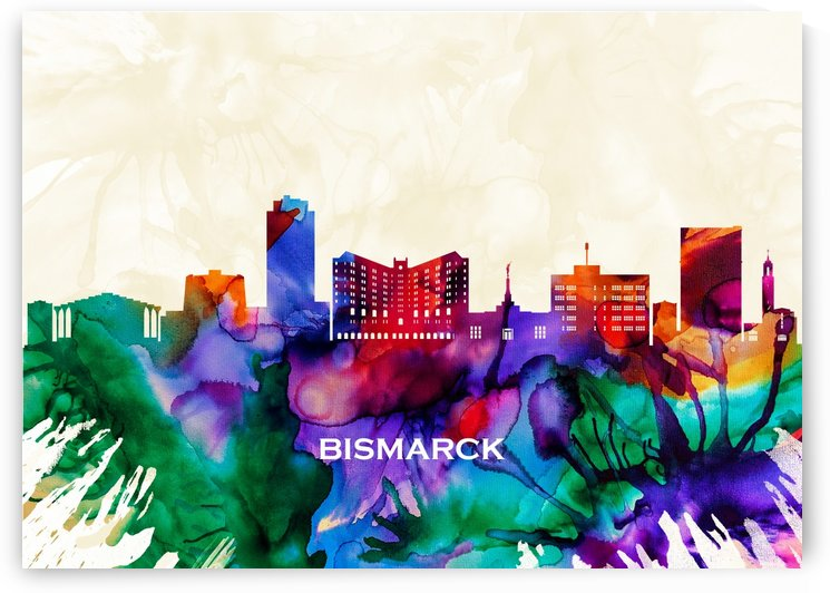 Bismarck Skyline by Towseef