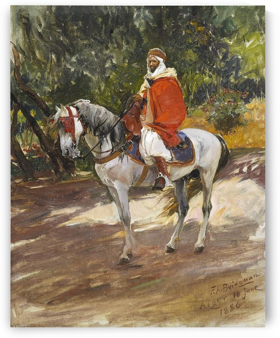 Red Horseman by Frederick Arthur Bridgman