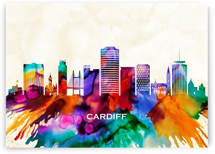 Cardiff Skyline by Towseef