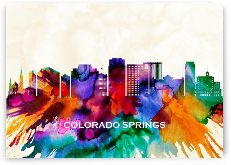 Colorado Springs Skyline by Towseef