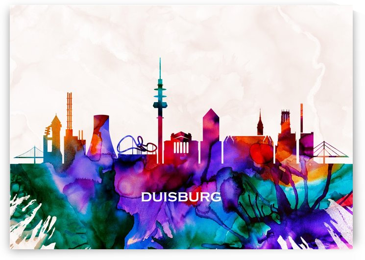 Duisburg Skyline by Towseef
