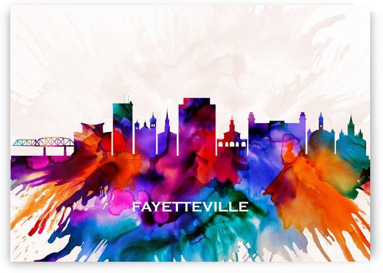 Fayetteville Skyline by Towseef