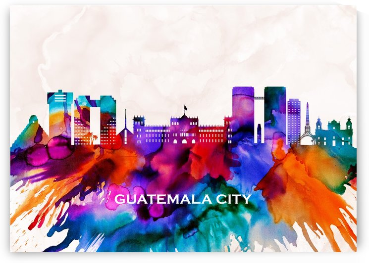 Guatemala City Skyline by Towseef