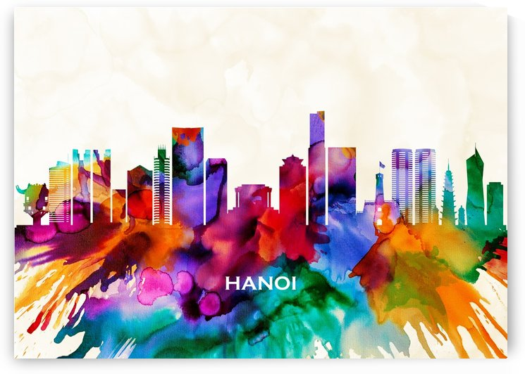 Hanoi Skyline by Towseef