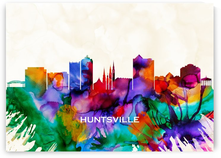 Huntsville Skyline by Towseef