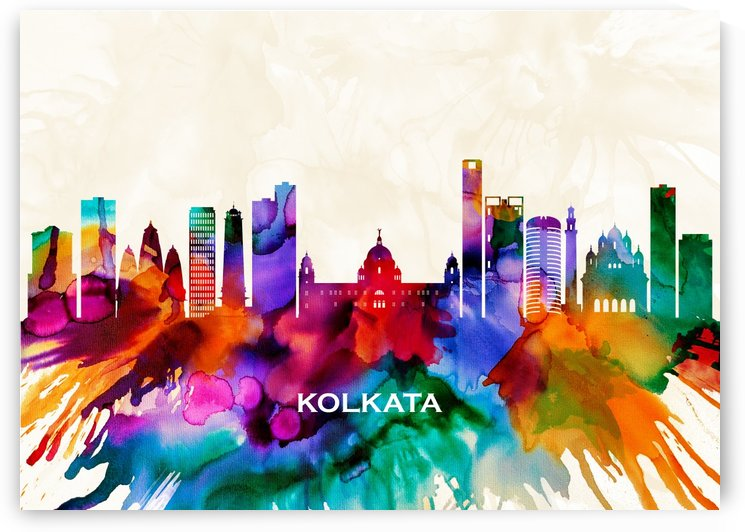 Kolkata Skyline by Towseef