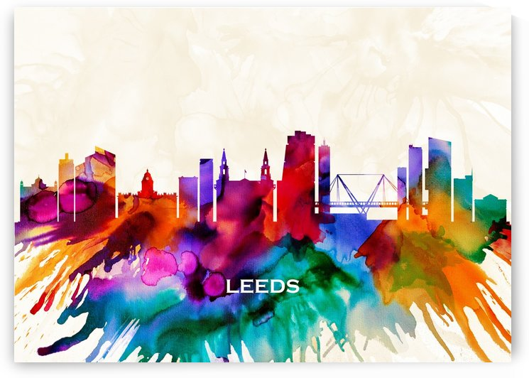 Leeds Skyline by Towseef