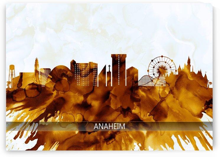Anaheim California Skyline by Towseef