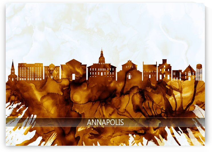 Annapolis Maryland Skyline by Towseef