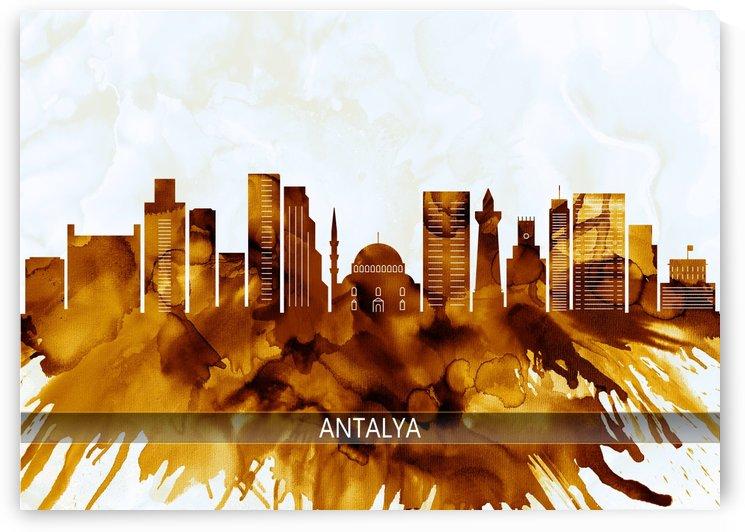 Antalya Turkey Skyline by Towseef Dar