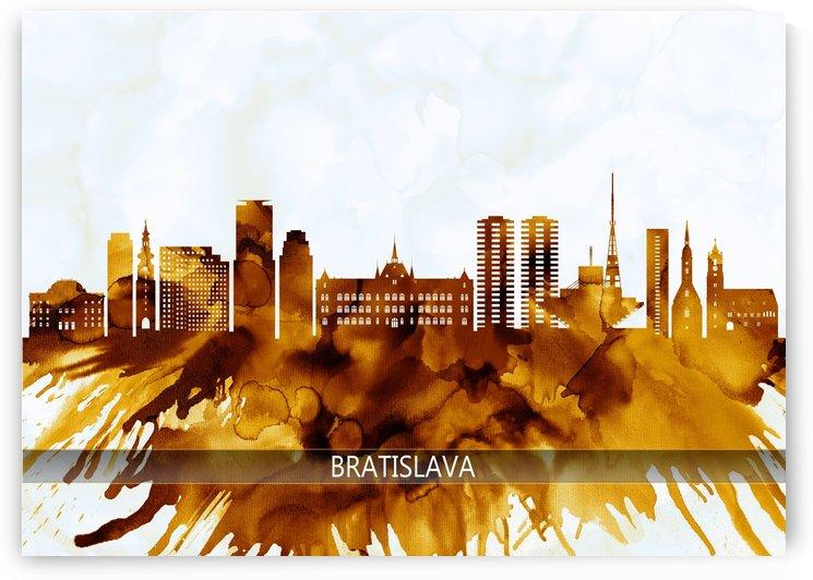 Bratislava Slovakia Skyline by Towseef Dar