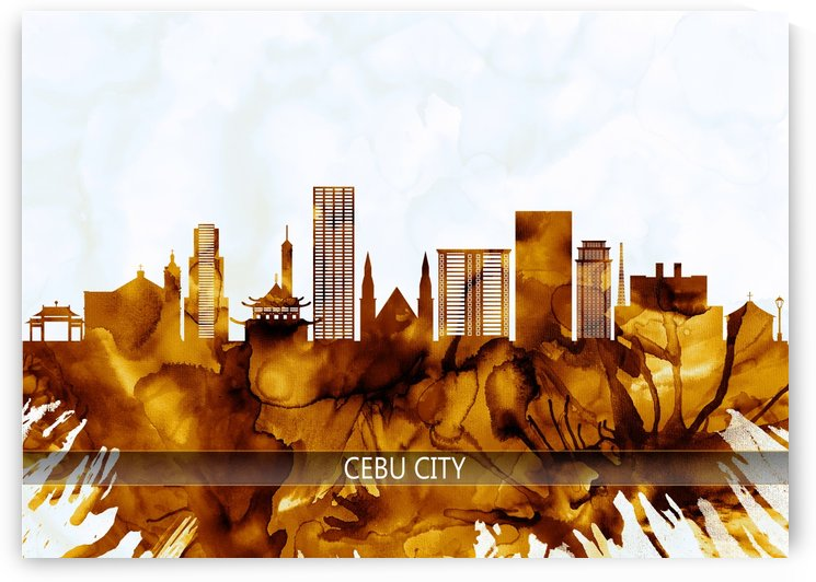 Cebu City Philippines Skyline by Towseef