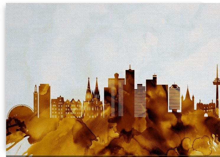 Cologne Germany Skyline by Towseef Dar