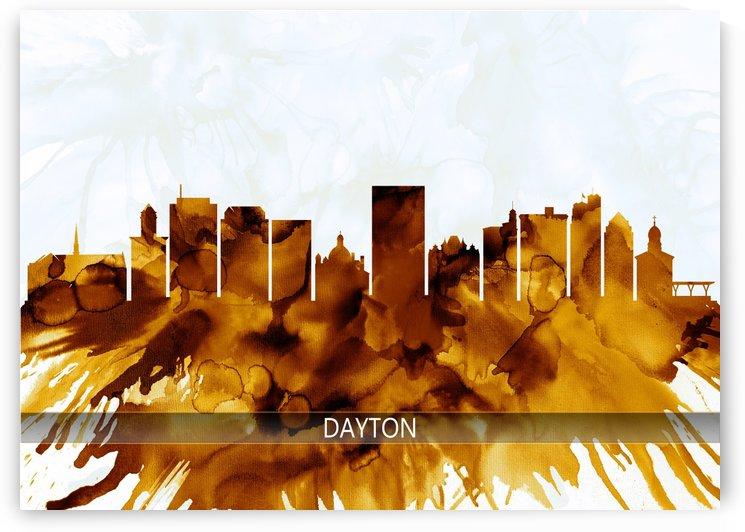 Dayton Ohio Skyline by Towseef Dar