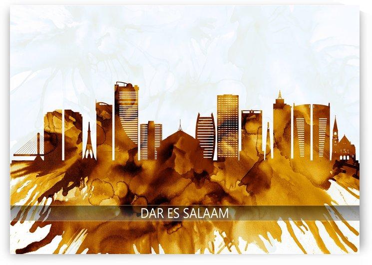 Dar es Salaam Tanzania Skyline by Towseef Dar