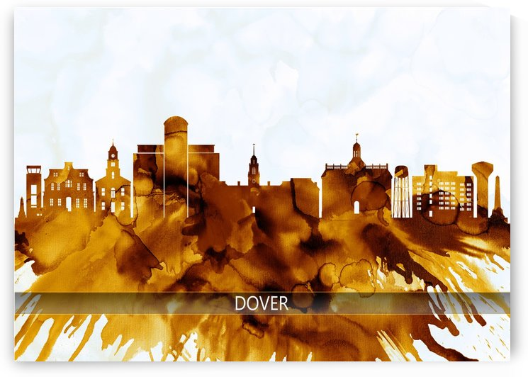 Dover Delaware Skyline by Towseef Dar