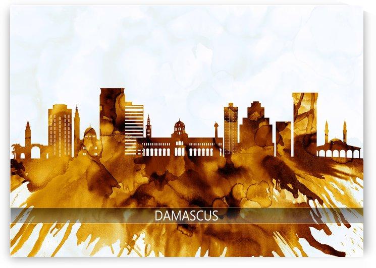 Damascus Syria Skyline by Towseef Dar