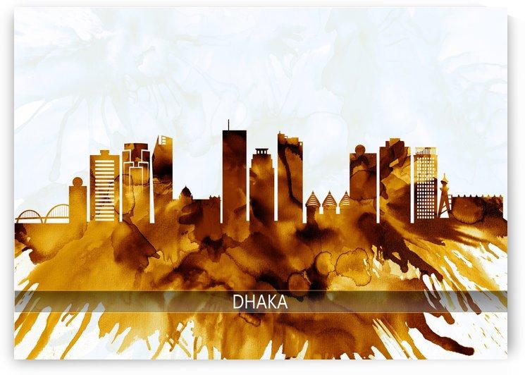 Dhaka Bangladesh Skyline by Towseef Dar