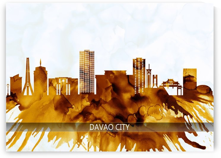 Davao City Philippines Skyline by Towseef Dar