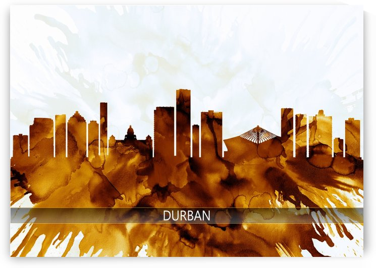 Durban South Africa Skyline by Towseef