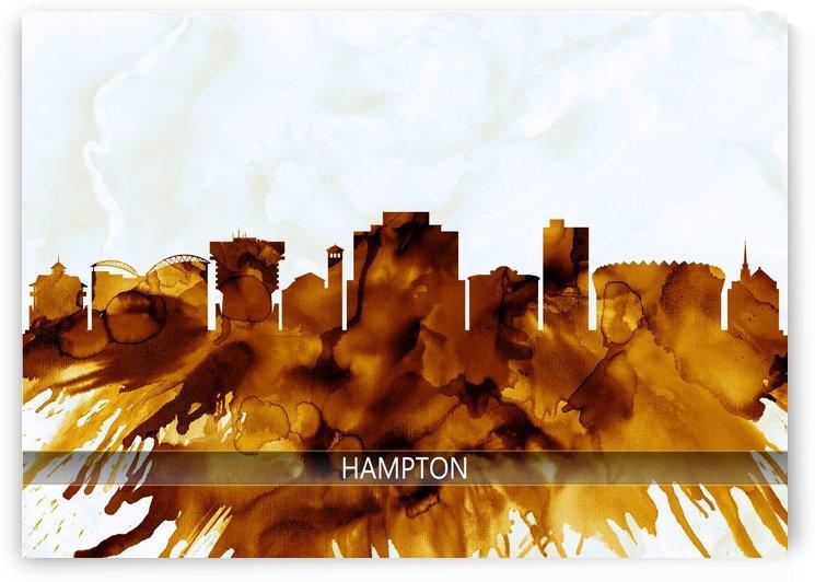 Hampton Virginia Skyline by Towseef Dar