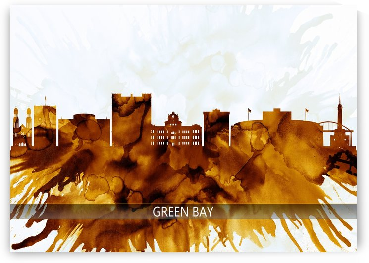 Green Bay Wisconsin Skyline by Towseef