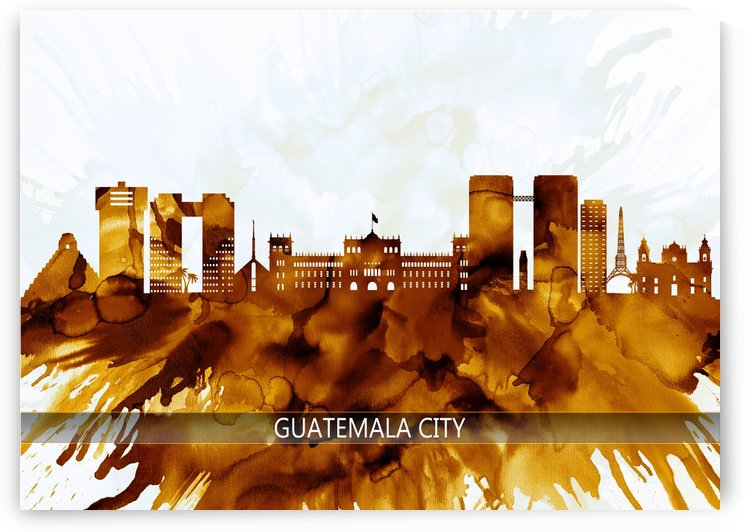 Guatemala City Guatemala Skyline by Towseef