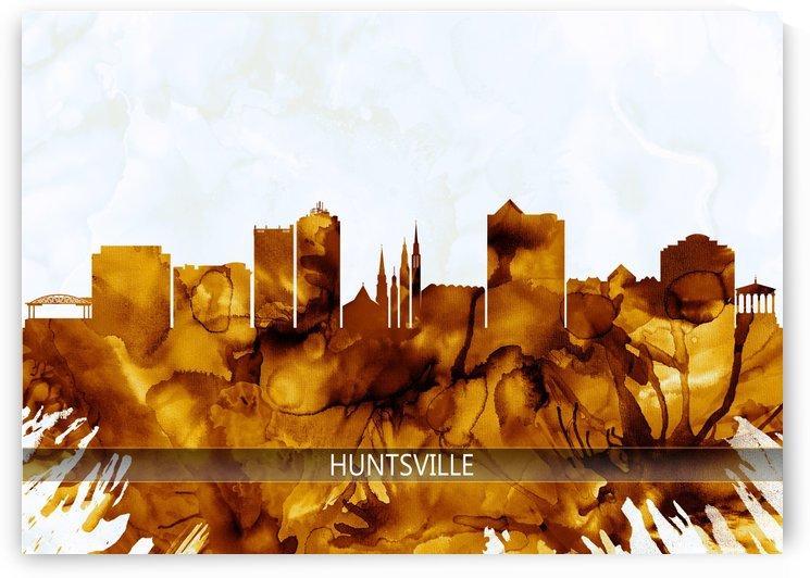 Huntsville Alabama Skyline by Towseef