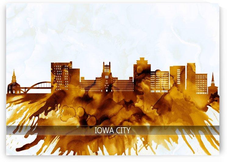 Iowa City Iowa Skyline by Towseef Dar