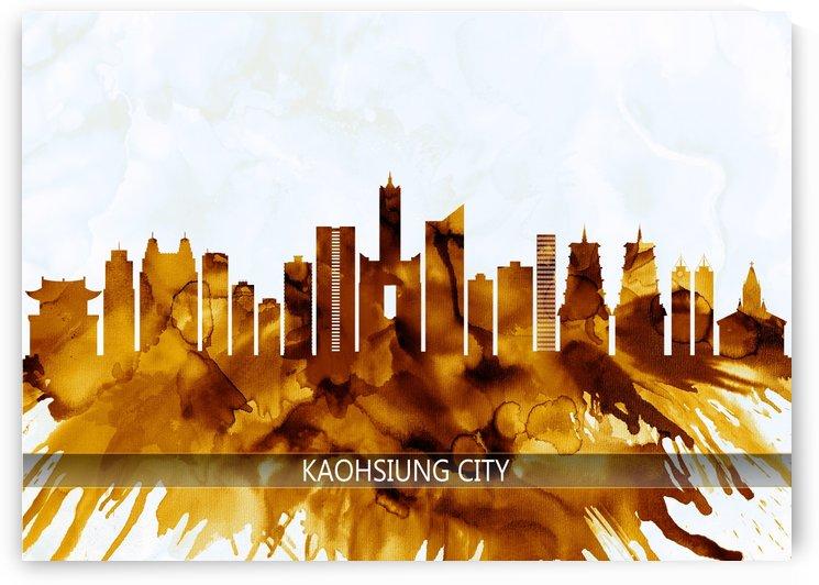 Kaohsiung City Taiwan Skyline by Towseef Dar