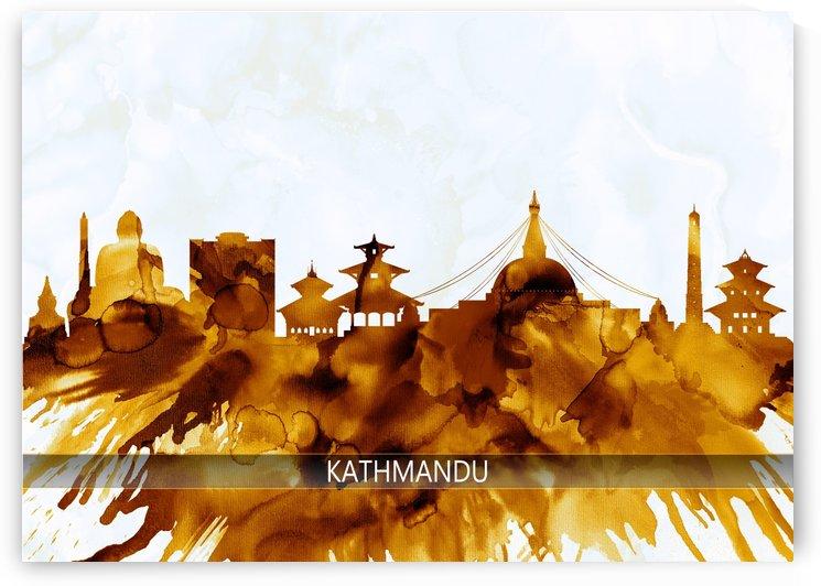 Kathmandu Nepal Skyline by Towseef
