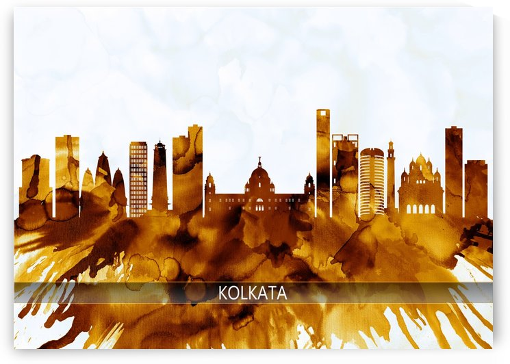 Kolkata West Bengal Skyline by Towseef