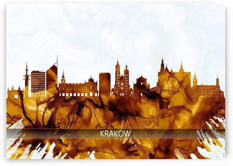 Krakow Poland Skyline by Towseef Dar