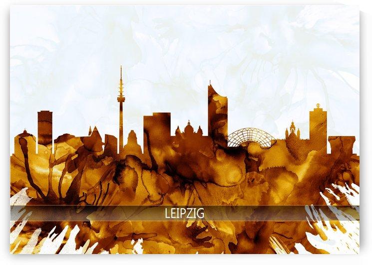 Leipzig Germany Skyline by Towseef