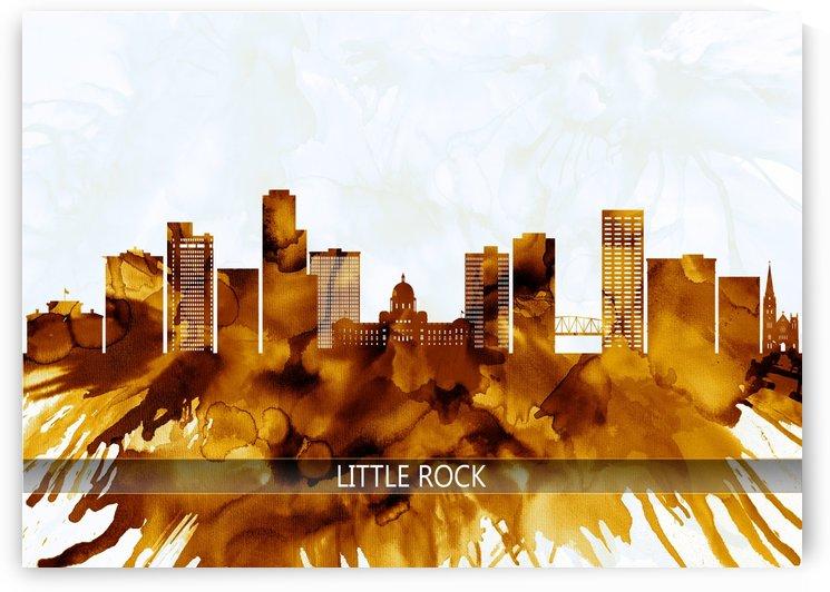 Little Rock Arkansas Skyline by Towseef