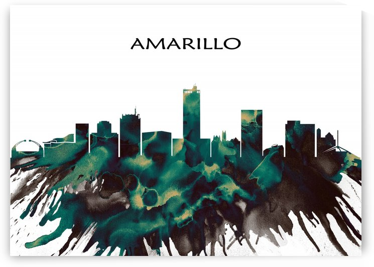 Amarillo Skyline by Towseef