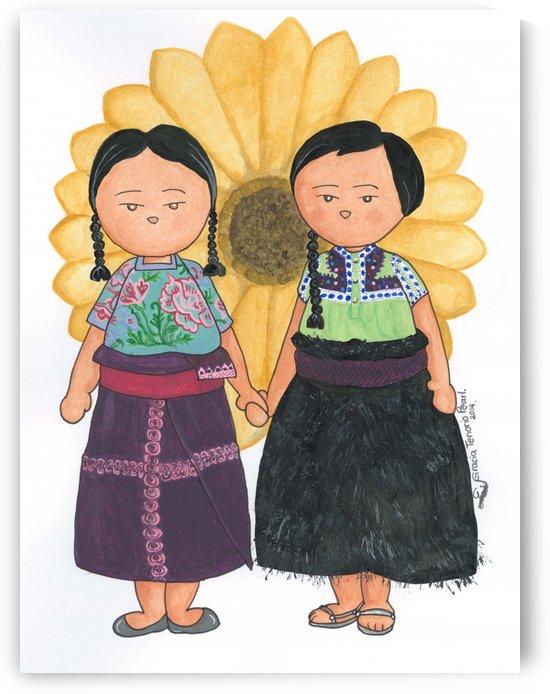 Mexican dolls by Gracia Tenorio Art