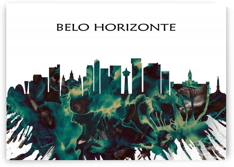 Belo Horizonte Skyline by Towseef