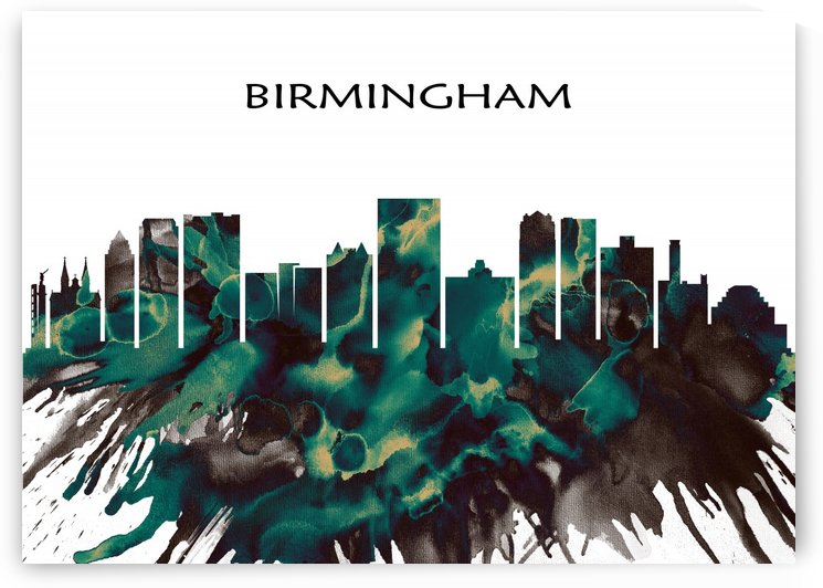 Birmingham Skyline by Towseef Dar