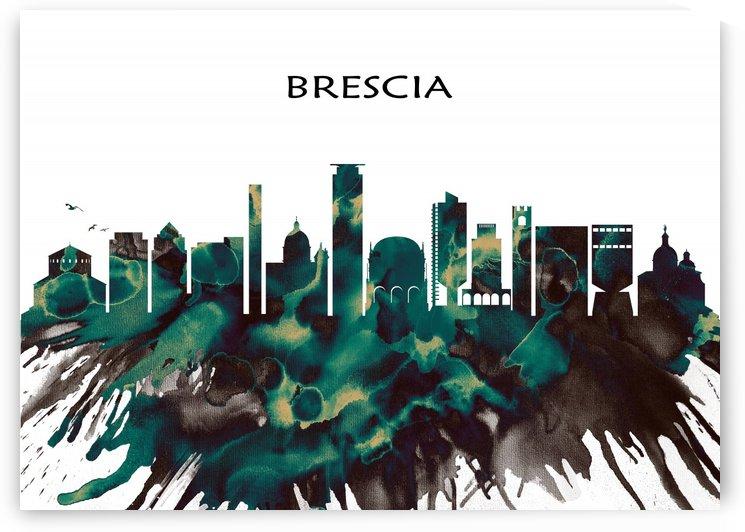 Brescia Skyline by Towseef Dar