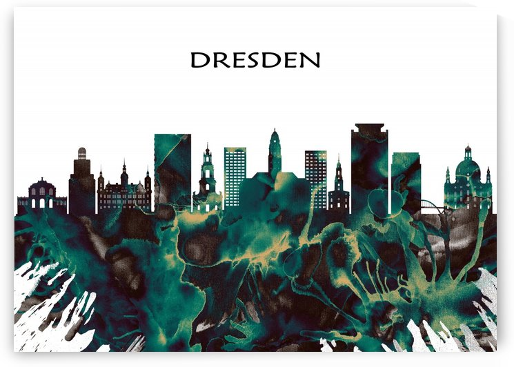 Dresden Skyline by Towseef Dar