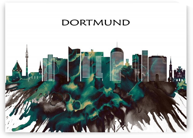 Dortmund Skyline by Towseef Dar
